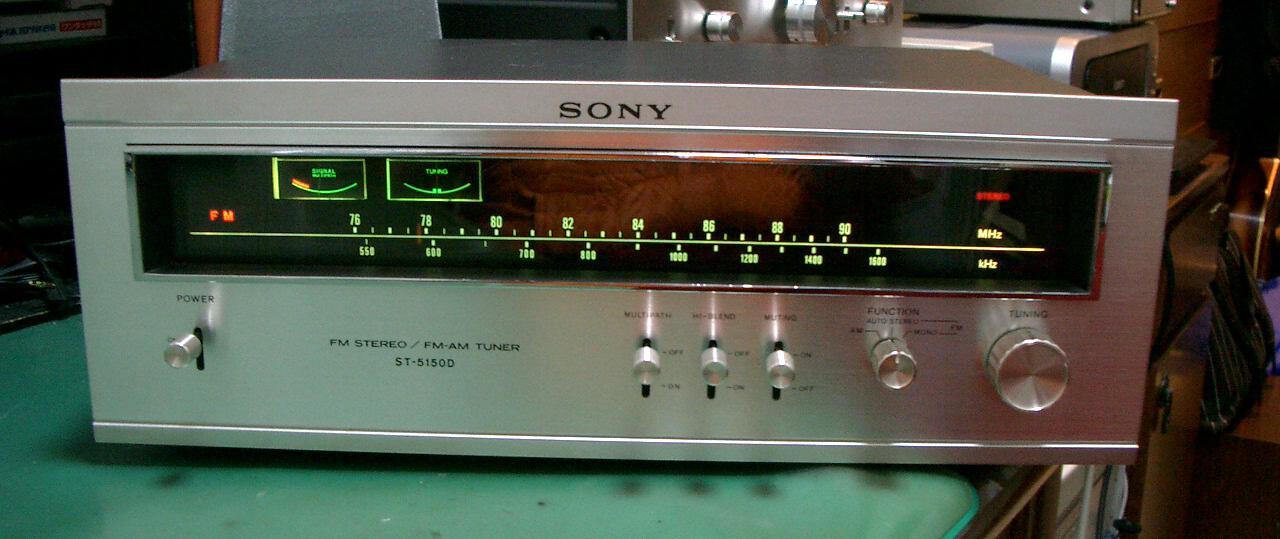 SONY FMステレオチューナー ST-5...